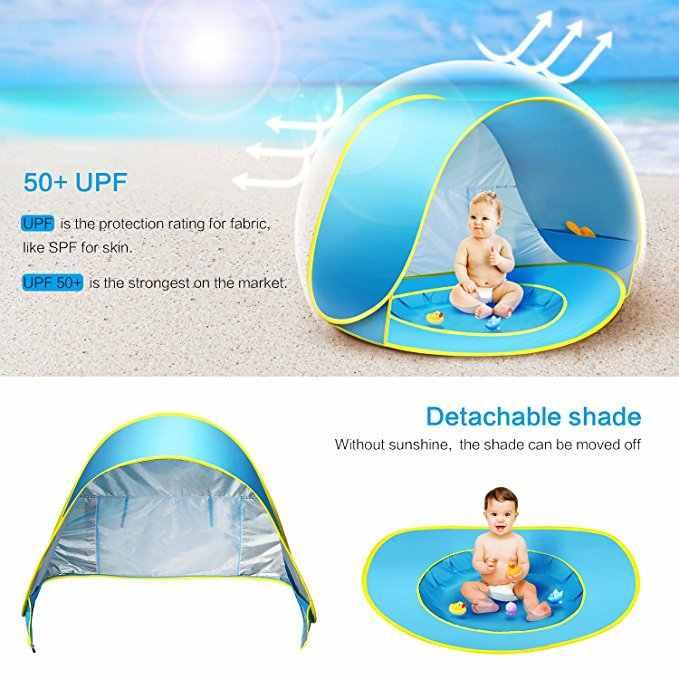 Beach Tent Portable Shade Pool