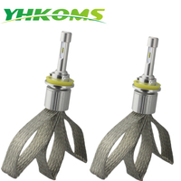 YHKOMS LED Car Headlight H8 H9 H11 H1 H3 9005 HB3 9006 HB4 H4 H7 Auto