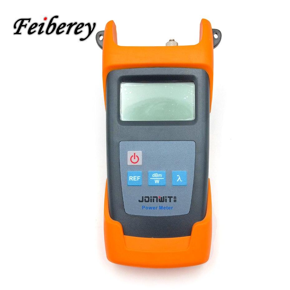 Medidor de potencia óptica de alta precisión 50 ~ + 30dBm JW3211C medición de potencia óptica de fibra de alta precisión OPM para FTTH proyecto-in Equipos de fibra óptica from Teléfonos celulares y telecomunicaciones on AliExpress - 11.11_Double 11_Singles' Day 1