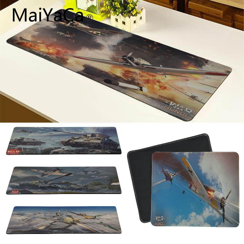 MaiYaCa Boy Gift Pad War Thunder Computer Gaming Mousemats Large Mousepad Grande Gaming Mouse Mice