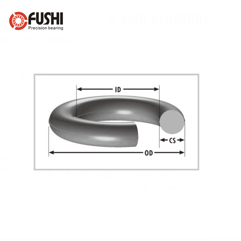 Green Seal 5 Pieces Width of 1.9 mm Outer Diameter of 16 mm Odor Rings of Fluorine Rubber Inner Diameter of 12.2 mm