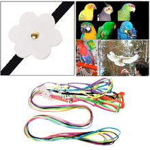 Pet-Harness Product Leash Strap Training-Rope Bird Cross-Band Parakeet Parrot Flying