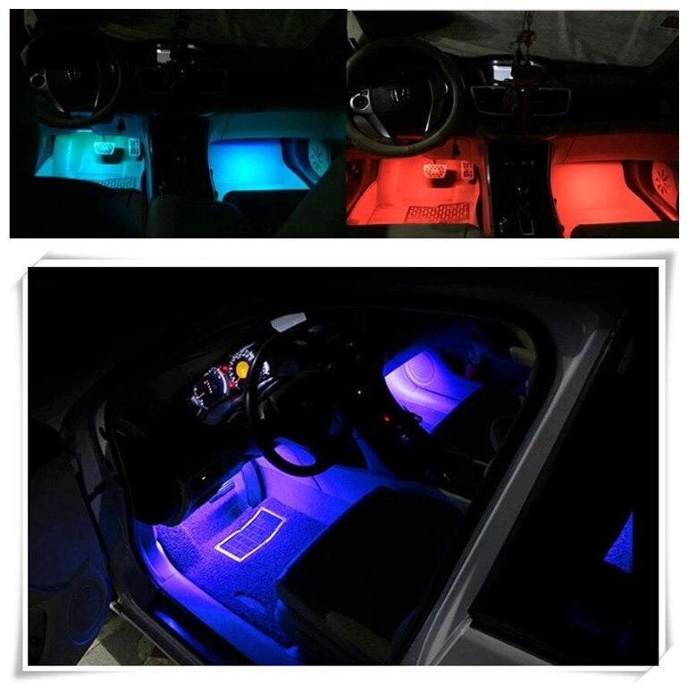 Delicious Car Styling Led Trim Strips Light Car Stickers For Citroen C-elysee C4l C6 Ds4 C-crosser C3 C4 C5 Ds5 E-mehari Car Accessories Sturdy Construction
