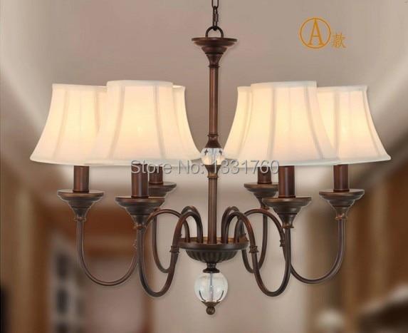 Hanglamp Voor Slaapkamer : Heads amerikaanse land stijl crystal ball hanglamp eetkamer