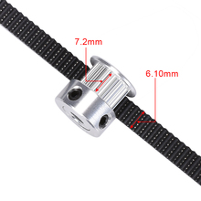 Open Timing Belts for 3D Printer 2/5meter GT2-6mm With Steel Core