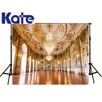Kate Photographic Background Golden Palace Chandelier Crystal Lamp Photo Photocallbackdrops Boy Kids 8 X 8 Ft