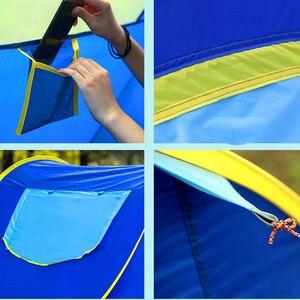 Image 5 - Werfen zelt im freien automatische zelte werfen pop up wasserdichte camping wandern zelt wasserdicht familie zelte Geschwindigkeit offene Familie