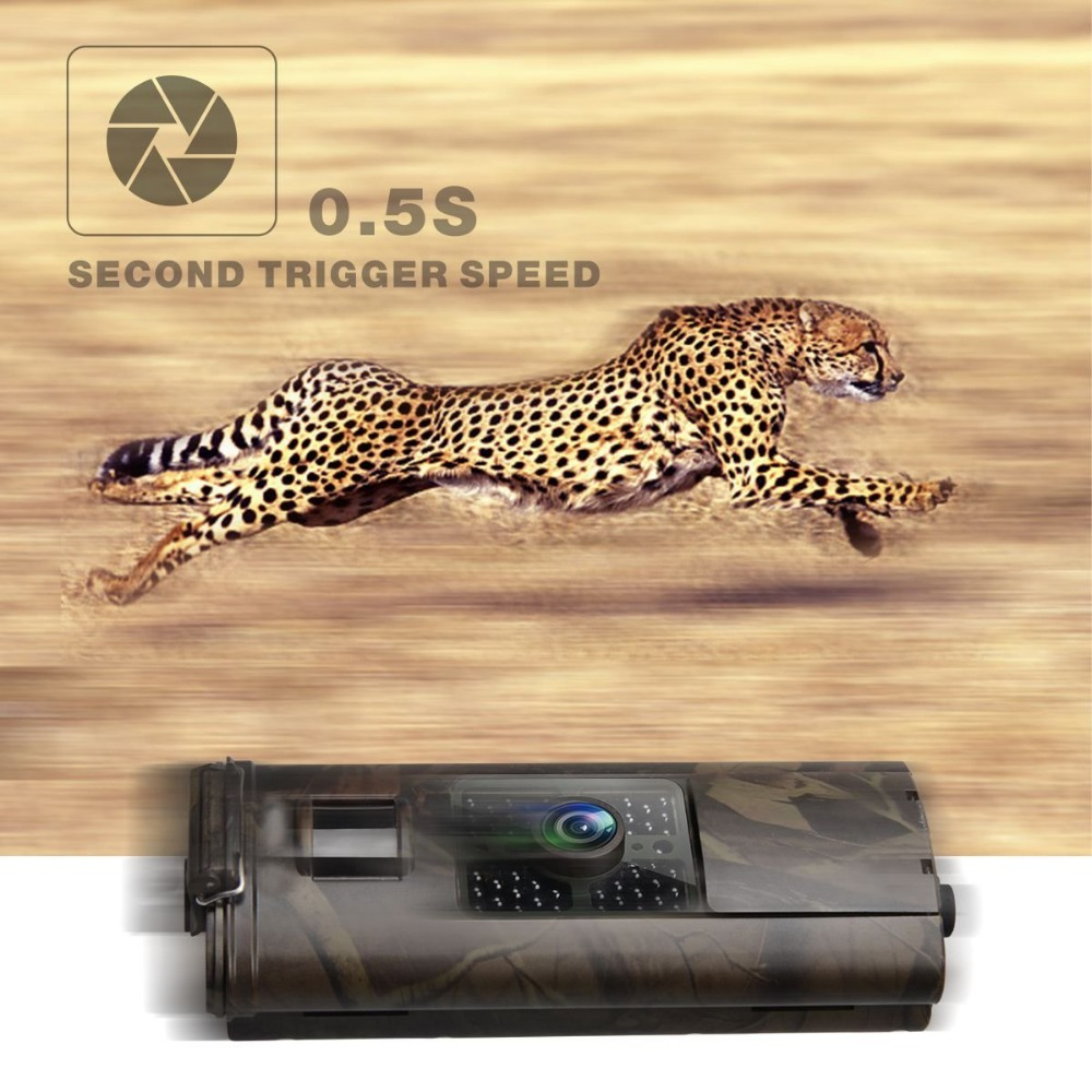 Wild Camera <font><b>3G</b></font> <font><b>HC700G</b></font> 16MP Trail Hunting Camera For Hunter GPRS MMS SMTP SMS 1080P Night Vision Video Recorder 940nm Infrared image
