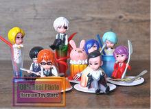 8pcs/lot Tokyo Ghoul Action Figure Set Toy