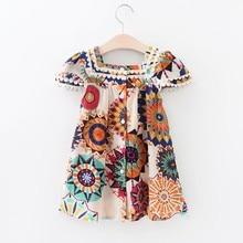 Little Girls Sunflower Summer Sundress