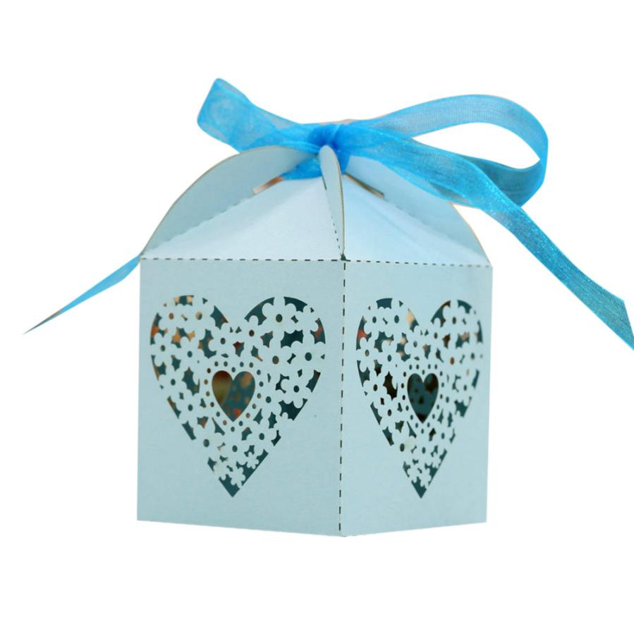 New Qualified Dropship 50pcs Sweet Married Wedding Favor Box Gift