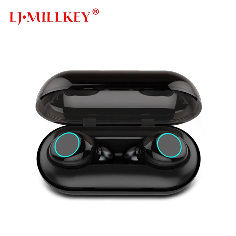 Bluetooth 5,0 TWS Mini Drahtlose Kopfhörer IPX8 Wasserdichte Bluetooth Kopfhörer Touch Control Hifi Drahtlose Ohrhörer Headset YZ205