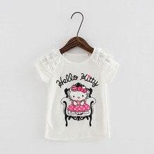 2016 детская одежда для девочек для девочек футболки девушка одежда топы майка наизнанку футболка fille vetement bbf007-c