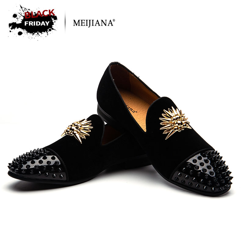 MEIJIANA Brand Mens Loafers Genuine Leather Comfortable Luxury Men Party Shoes High-end Handmade Loafers Shoes crochet baby costume set knit rabbit hat newborn photography props carrot hat pants 3 pieces set baby photo shoot accessories