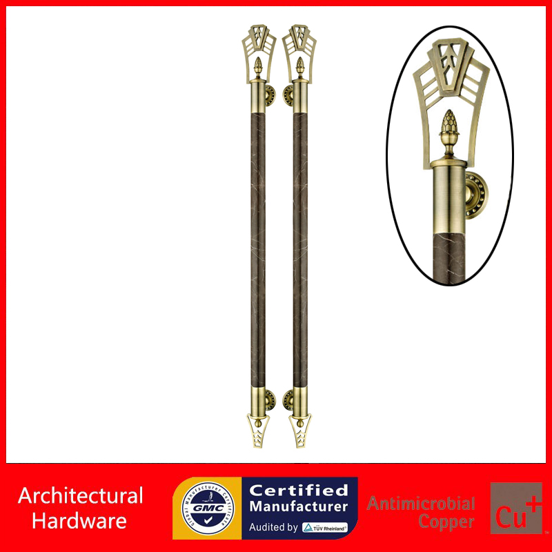 Modern Entrance Door Pull Handle Made Of Solid Natural Marble Available For Wooden/Metal Frame Doors PA-970-51*1450mm entrance door handle black peach wood bronze pull handles pa 255 38 1000mm for wooden glass metal doors