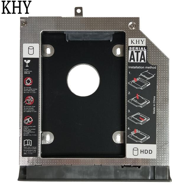 New 2nd HDD Caddy 9.0mm SATA3.0 SSD HDD Bracket for Lenovo IdeaPad 320 320-14IKB IdeaPad 320-15AST IdeaPad 320-15ISK 320-15IKB