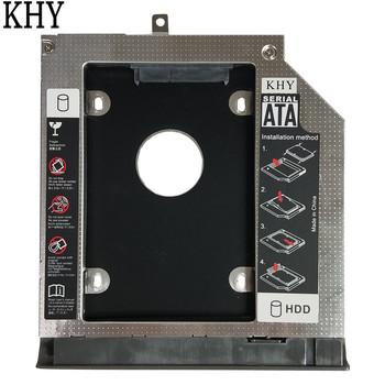Nowy 2 HDD Caddy 9 0mm SATA3 0 SSD HDD wspornik dla Lenovo IdeaPad 320 320-14IKB IdeaPad 320-15AST IdeaPad 320-15ISK 320-15IKB tanie i dobre opinie IdeaPad 320 IdeaPad 320-15AST IdeaPad 320-15ISK Unisex Pokrywa wymienna do laptopa Pokrowce na laptopa