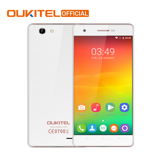 Oukitel C4 5.0 Inch HD Screen Smartphone 1GB RAM+8GB ROM 2000mAh Cell Phone MTK6737 Quad Core Android 6.0 Mobile Phone
