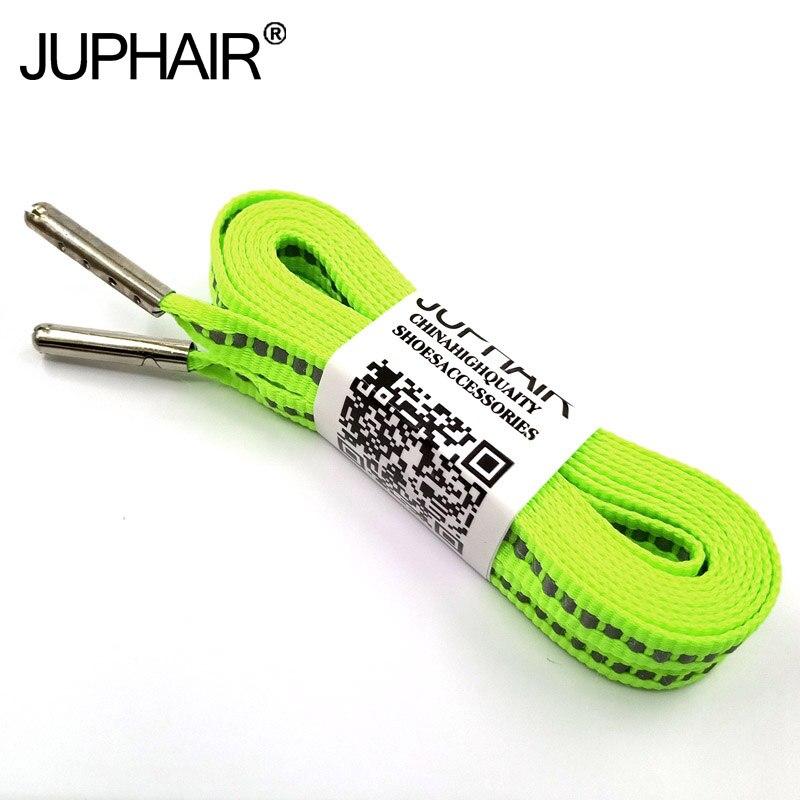 1-50 Pairs Fluorescent green shoelacess women shoes  schoen veters lacci lacets chaussures cordones botas laces sneakers