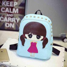 Little Girl – Leather Backpack