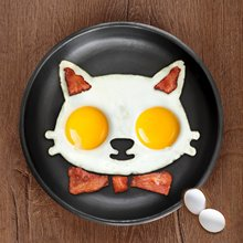 Non-stick Cute Silicone Fried Egg Pancake Molds