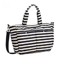 Mother Bag Striped Large Capacity Nappy Diaper Changing Bags Multifunctional Women Maternity Mummy Bag Hobos
