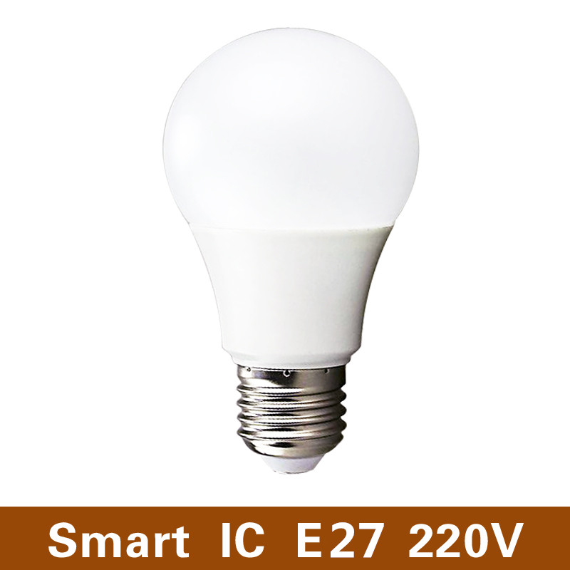 [MingBen] LED Bulb E27 220V-240V Smart IC High Brightness 3W 5W 7W 9W 12W 15W Cold White Warm White LED Lampada Bombilla Ampoule 5pcs e27 led bulb 2w 4w 6w vintage cold white warm white edison lamp g45 led filament decorative bulb ac 220v 240v