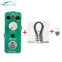 Green Mile Micro Mini Overdrive Electric Guitar Effect Pedal True Bypass Free Shipping