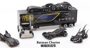 Image 2 - محاكاة 1: 64 سبيكة سيارة مجموعة العدالة الدوري باتمان Batmobile Diecasts لعبة السيارات لعبة نموذج سيارة لعب للأطفال الصغار