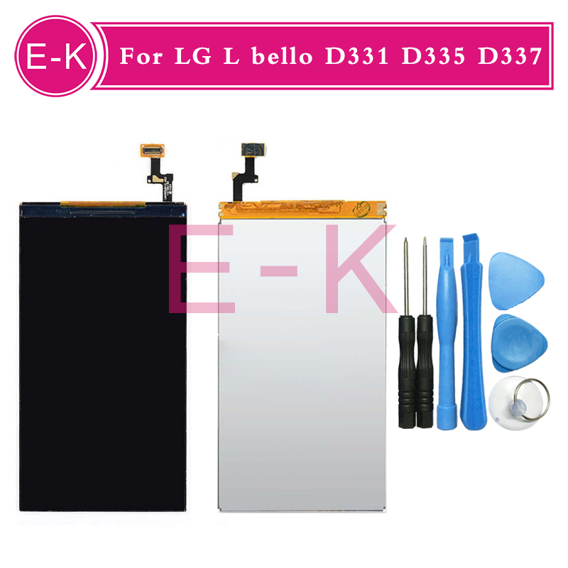 Original For LG L bello D331 D335 D337 LCD display Screen Replacement Tools Free shipping