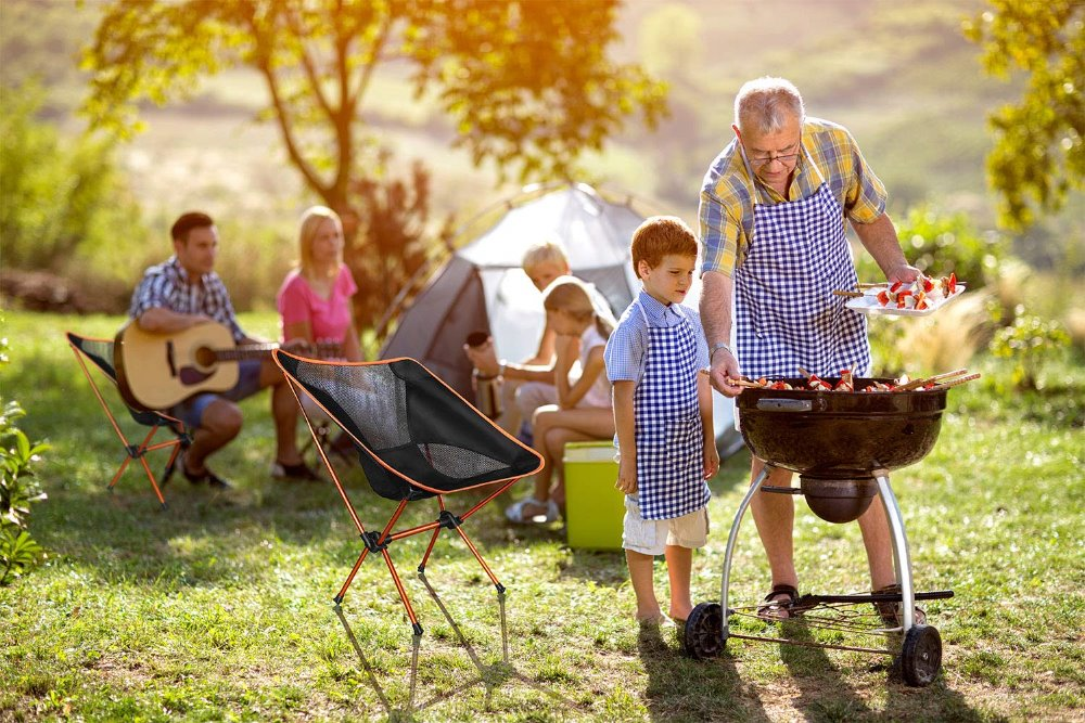Image 5 - Дропшиппинг Портативный Легкий стул для рыбалки твердый табурет для кемпинга Складная уличная мебель садовый переносной, очень легкий стул-in Пляжные кресла from Мебель on AliExpress