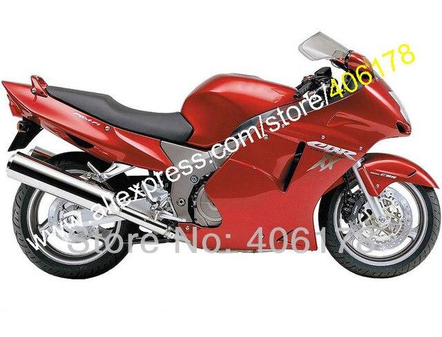 Hot SalesFor Honda CBR1100XX Blackbird Full Red CBR1100 XX 96 97 98 99 00 01 02 03 04 05 06 07 Fairing Kit Injection Molding