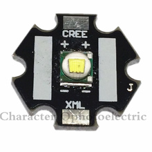 10pcs Cree XLamp XML U2 10W LED Emitter Warm White 3000-3200k Color + 20mm Star Base PCB стоимость