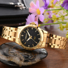 CHENXI Brand Luxury Women Gold Watch Lady Dress Quartz Wristwatch Retro Antique Casual Female Clock relogio feminino