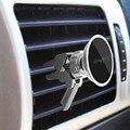 Magnética Coche Universal Air Vent Mount Holder Soporte para Teléfono Móvil De Aluminio Soportes para el iphone con 360 Grados de Rotación y de Mano-libre