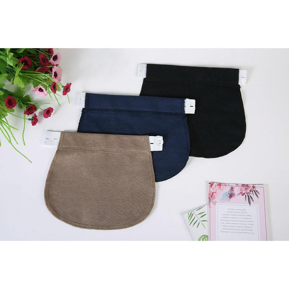 1 pcs Pregnancy Maternity Waist adjustable Extender Waist Belt Elastic Waist Pants Clothes For Pregnant Women stylish elastic waist solid color voile culotte for women