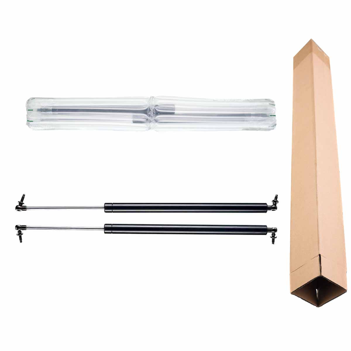 2x Tailgate Hatch Lift Supports Struts for Chrysler Grand Caravan Town /& Country