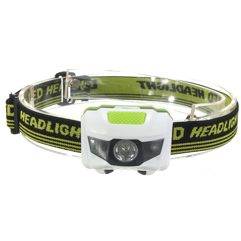 Mini waterproof 600lm 4 modes r3 2 led headlight 3xaaa headlamp bike bicycle light with headband