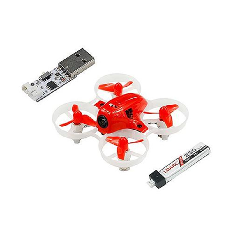 Hot KINGKONG/LDARC TINY 6X 65mm Micro Racing FPV Quadcopter With 716 Brushed Motors Based on F3 Brush Flight Controller RTF PNP ldarc tiny 6x rtf indoor fpv racing drone rc racer mini quadcopter with remote controller tx rx