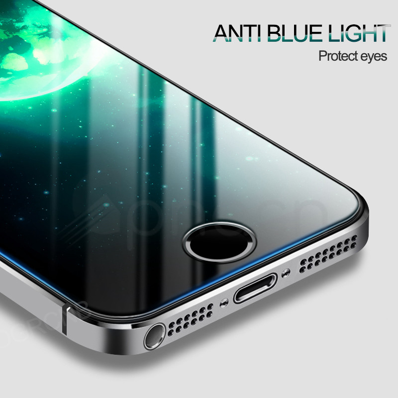 Tempered Glass On The For Apple iPhone 5S 5 SE 5C Screen Protector 9H Anti-Burst Protective Film Glass For iPhone 5S SE 4 4S 5