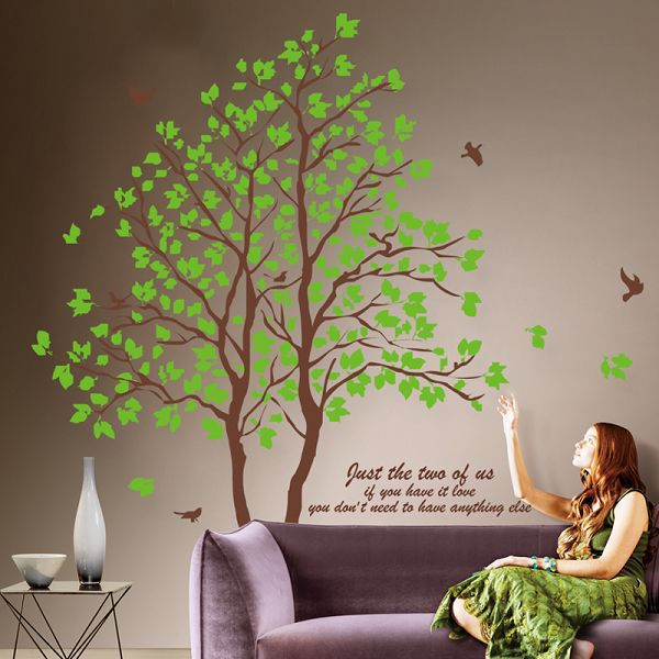 Large 3d Removable Dining Room Wall Stickers Home