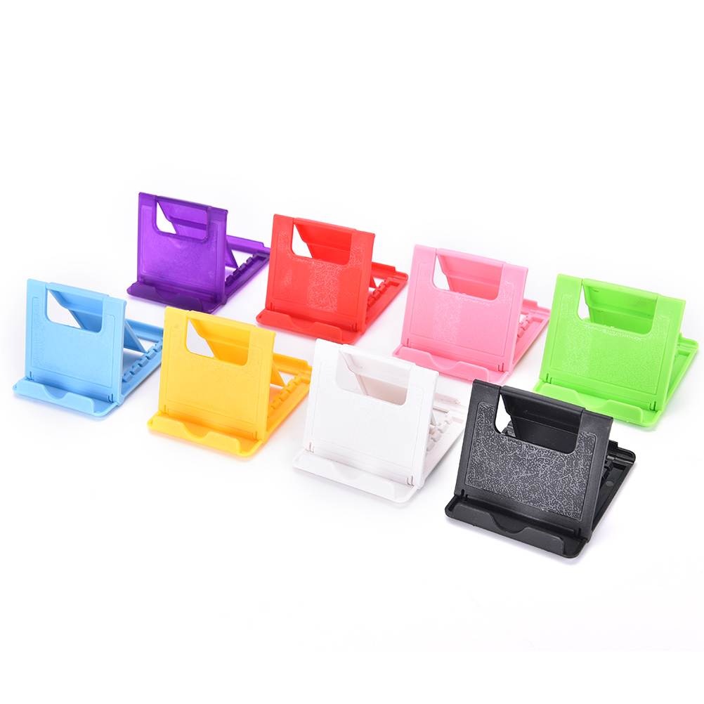 1pc Universal Foldable Desk Adjustable Mobile Phone Holder Stand For IPhone/iPad Tablet Smart Cellphone Mount
