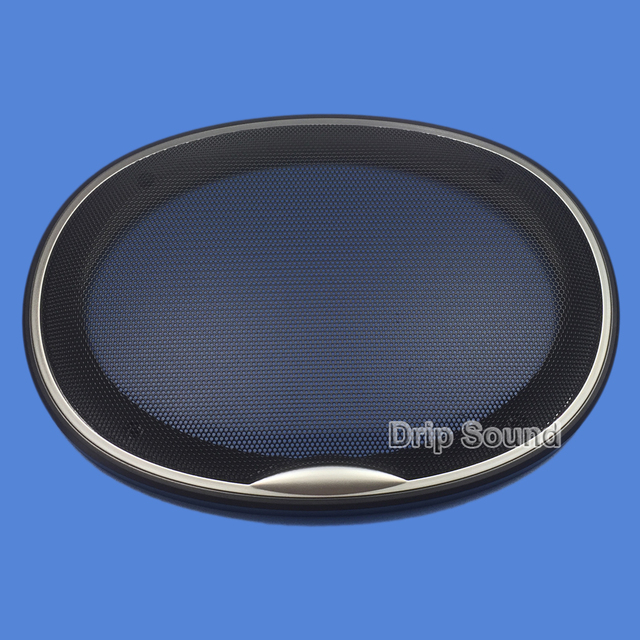 """For 6""""x9"""" 6x9 inch Speaker Grill Cover Car Audio Decorative Circle Metal Mesh Grille Protection"""