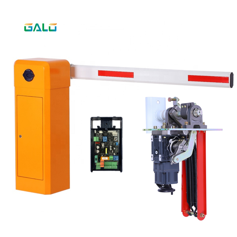 DC Brushless Motor Rfid Automatic Barrier Gate With Hall Limit Switch