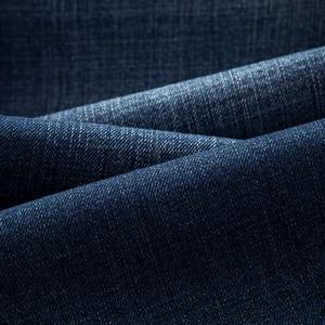 Image 4 - Selecionado jeans magros masculinos luz ajuste fino meados da cintura jeans para homens roupas pretas com bolsos laterais 2111 cartelo nova marca 2019