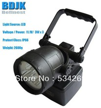 Portable LED Lanterns/ LED Flashlight / Lights & Lighting with 120 Meters Effective Distance
