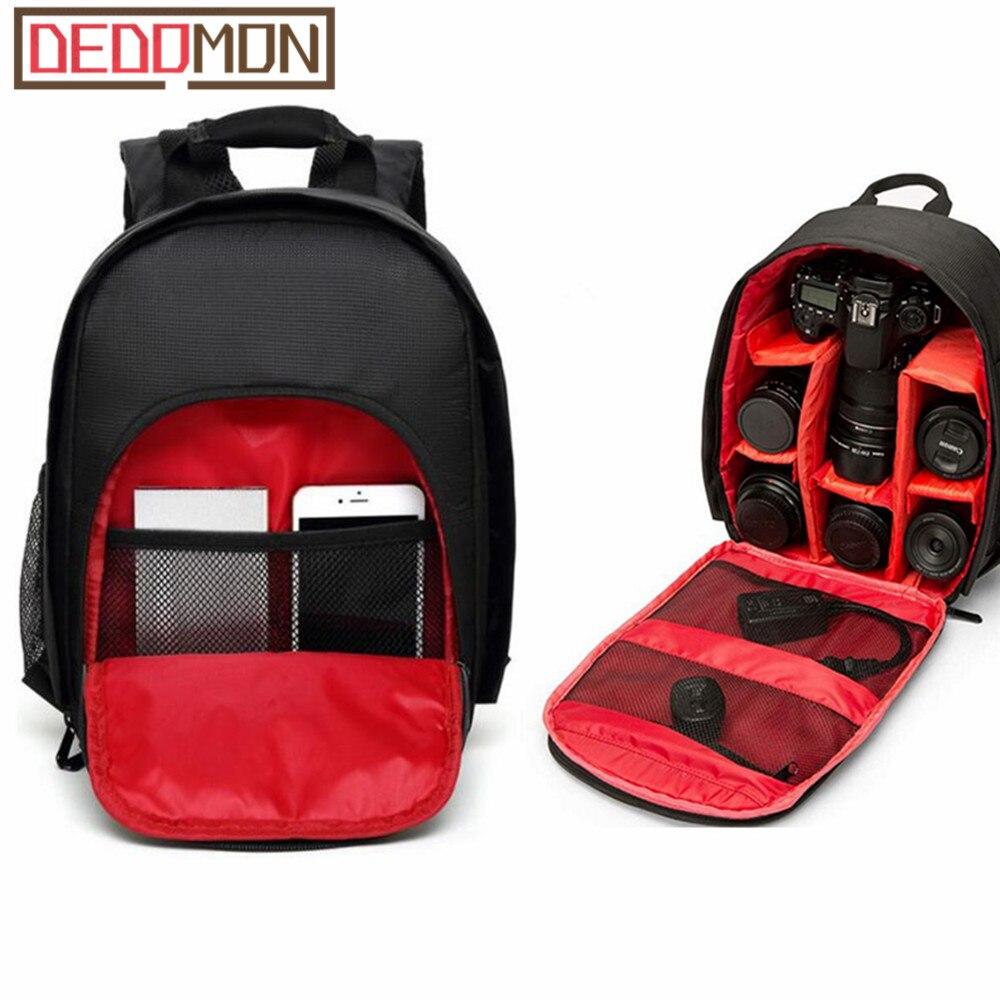 Coloful Waterproof Multi-functional Digital DSLR Camera Video Bag Small DSLR Nikon Canon Camera Backpack for Photographer
