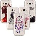 Для Funda Samsung Galaxy J3 2016 Case Силиконовые Задняя Крышка Прозрачная мягкие TPU Телефон Случаях Для Samsung Galaxy J3 Case для Девочек