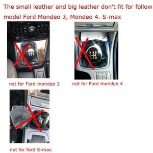 Image 4 - כסף שחור Gear Shift Knob 5 הילוך 6 מהירות ידנית עבור פורד פוקוס 2 MK2 FL MK3 MK4 MK7 מונדיאו KUGA GALAXY פיאסטה רכב סטיילינג