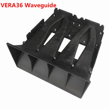цена на Finlemho Line Array Speaker Accessories Tweeter Horn Flare Professional Audio  2x1.4 Inch VERA36 For DJ Mixer Home Theater
